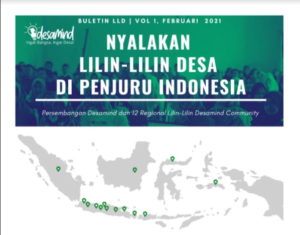 "Buletin Lilin-Lilin Desamind Community Vol 1 No 1 Tahun 2021 ""Nyalakan Lilin-Lilin Desa di Penjuru Indonesia."""