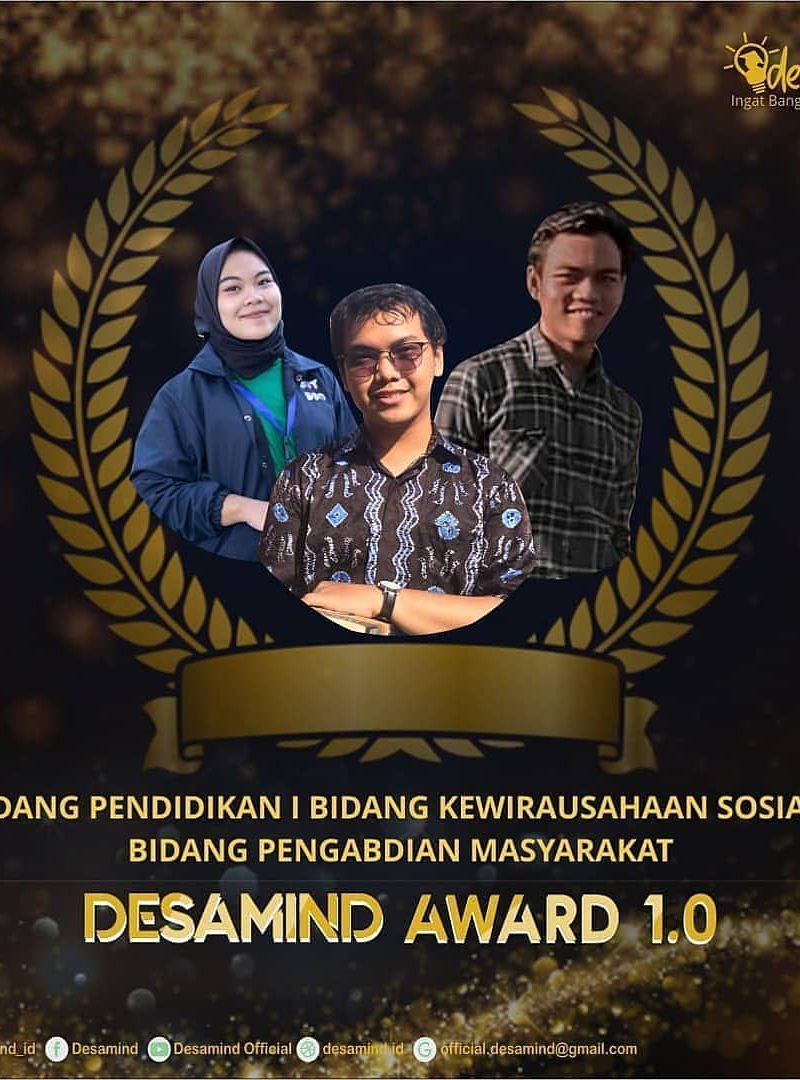 Desamind Award 1.0 Ajang Apresiasi Pergerakan Perorangan atau Kelompok di Penjuru Desa