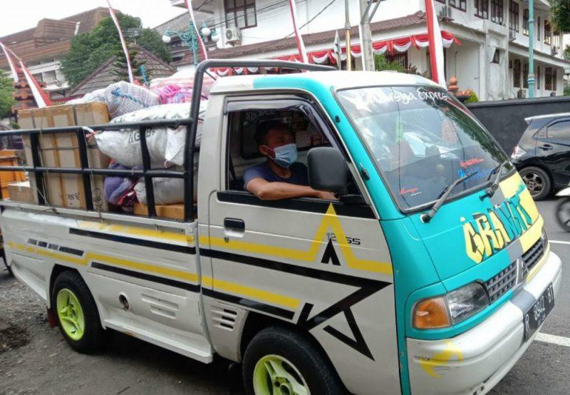 Pengiriman Donasi Pakaian ke Yogyakarta